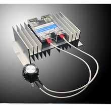 High Power 8000W 0-220V AC SCR Electric Voltage Regulator Motor Speed Controller цена и фото