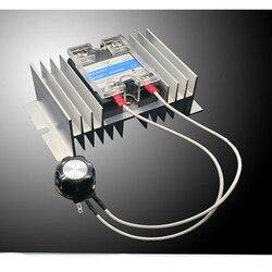 High Power 8000W 0-220V AC SCR Electric Voltage Regulator Motor Speed Controller