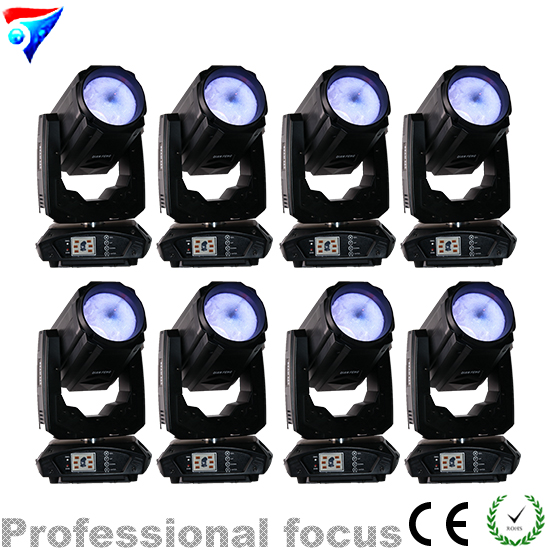 Free Shipping 8pcs/Lot 2018 New High Brightness 260w Beam LED Moving Head Spot Strobe Dimming DMX512 Stage Lighting DJ 8pcs lot free shipping best lighting led moving head spot led 90w moving heads factory price