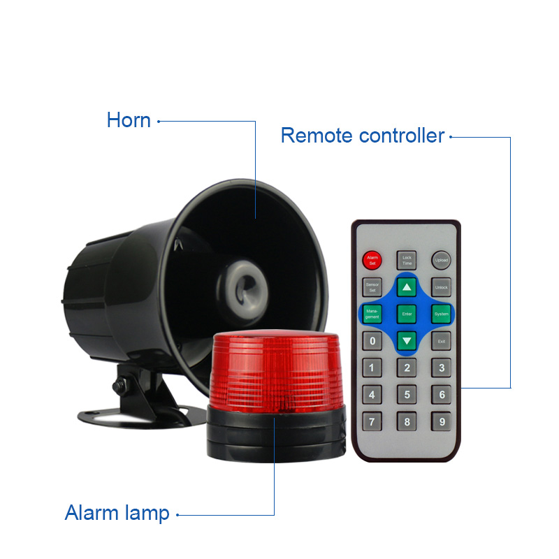Workplace Factory Forklift Speed Limit Overspeed Warning Safety Alarm System With Led Digital Display Wireless Speed Sensor Alarm System Kits