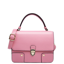 Japan And Korean Style Solid Color Flp Small Bag Women Fashion Patchwork Ladylike font b Handbag