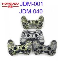Запасная камуфляжная зеленая оболочка корпуса чехол для Playstation 4 PS4 Pro контроллер JDM/S 001 JDM 040 Верхняя Нижняя часть корпуса