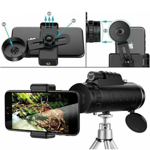 Image 4 - 40X60 HD זום משקפת משקפת חיצוני נסיעות טרקים יכול לשמש עבור מצלמה טלפון עדשת HD משקפת עבור iPhone Huawei