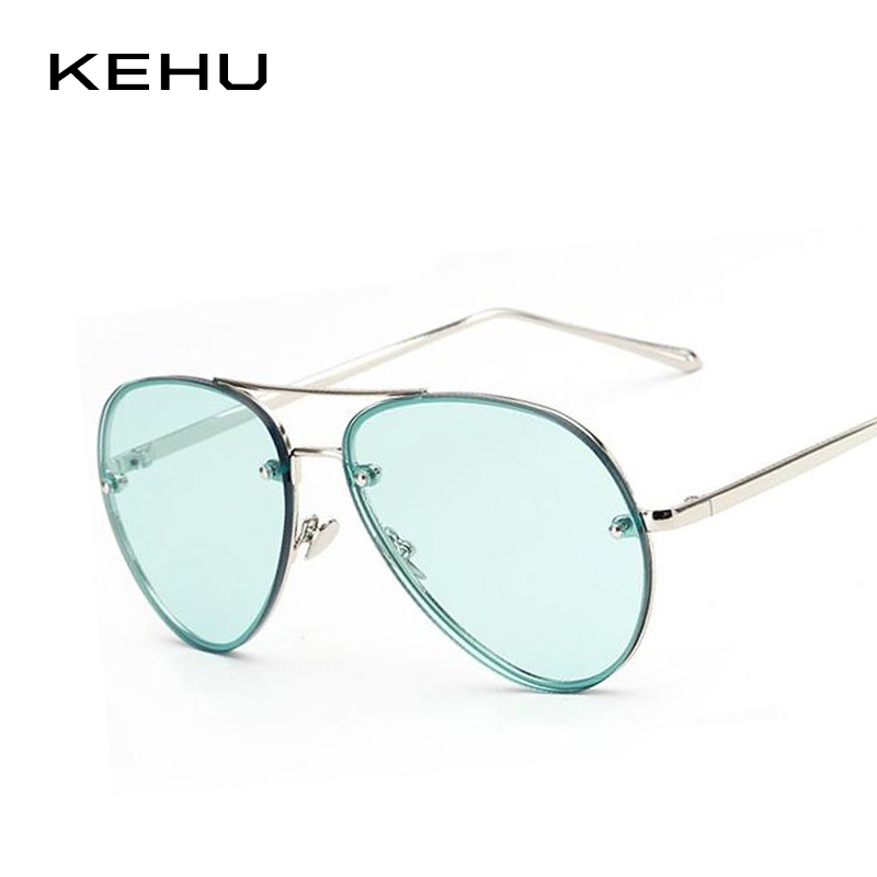 KEHU New Fashion Women Sunglasses Brand Design Big Frame Sunglasses H843
