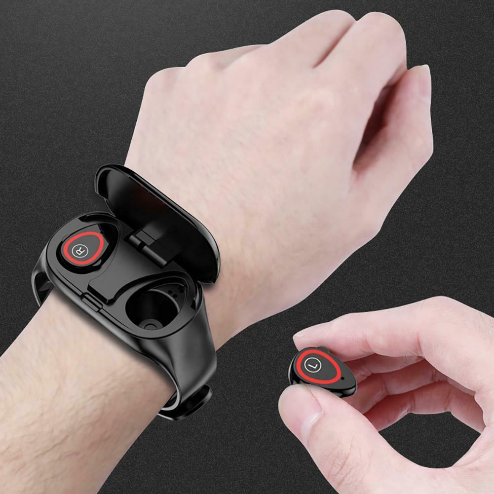 New M1 Smart Wristband With Bluetooth Earphone Health Sport Monitor Smart Bracelet Long Time Standby Sport Watch For Men Women