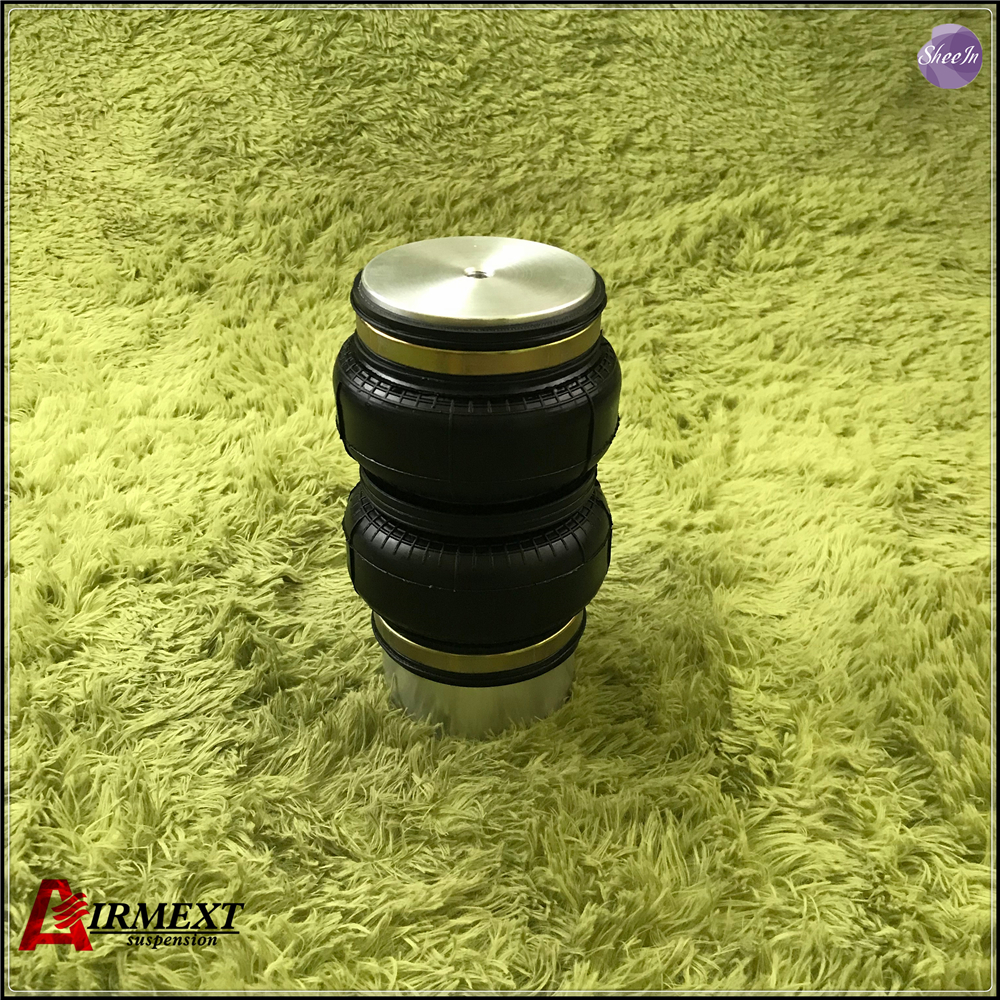 AIRMEXT/Rear air suspension for F.IAT 500/Air Double convolute rubber airspring/airbag shock absorber