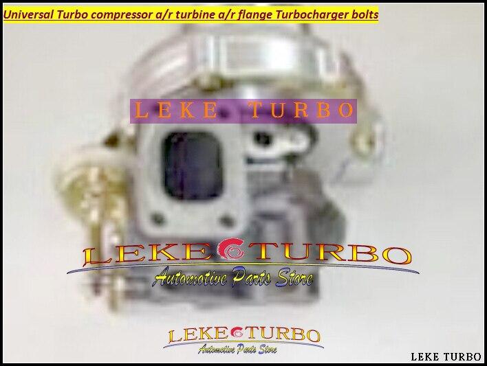Universal Turbo GT3076-4 Compressor AR 0.70 Turbine AR 0.86 ; T25 flange 5 bolt +3 Bolt adaptor Journal bearing Turbocharger kinugawa turbine outlet steel flange 5 bolt f rd falcon xr6 g rr tt gt3540 turbo 412 03002 006