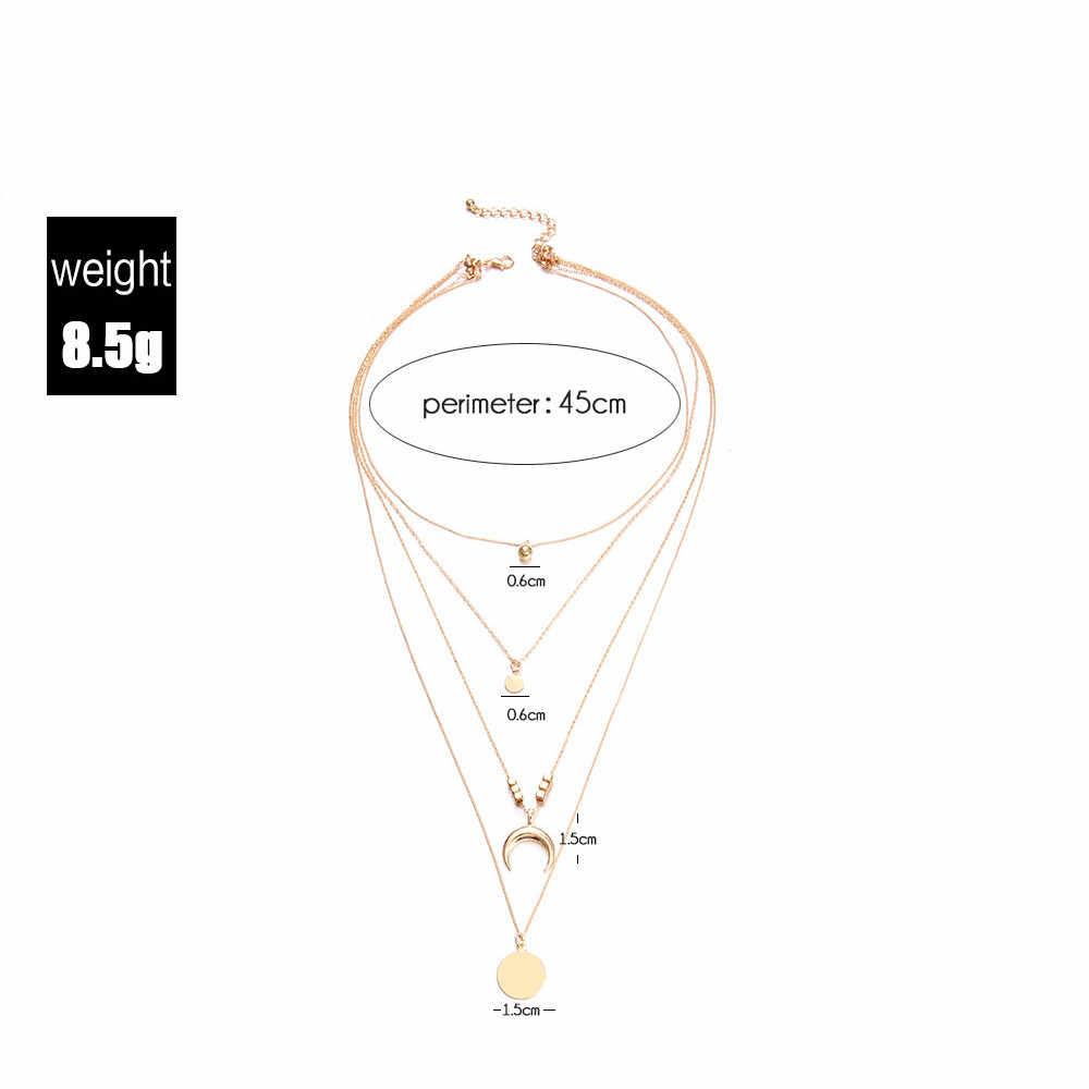 Susenstone 2019 โบฮีเมียนหลายสีจี้สร้อยคอผู้หญิงแฟชั่นเรขาคณิต Charm สร้อยคอเครื่องประดับ