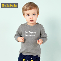Baby Boy Cotton Sweater For Newborns Autumn Winter Cute Comfortable Embroidered Sweaters Simple Lively Easy Wear Baby Boys Cloth