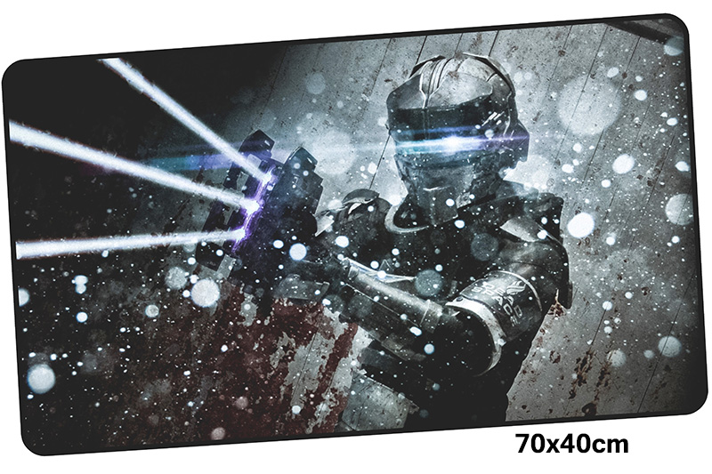 dead space mousepad gamer 700x400X3MM gaming mouse pad large Christmas notebook pc accessories laptop padmouse ergonomic mat