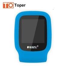 2017 Nuevo Llega El Original RUIZU X09 Deporte Reproductor de MP3 4 GB Mini Clip Con Pantalla Puede Jugar 30 Horas, FM, E-libro, Reloj, Datos en Stock