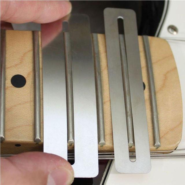 2 ชิ้นกีตาร์เบส luthier เครื่องมือ fretboard Bendable สแตนเลส Fretboard Fret Fingerboard Guard Protector อุปกรณ์กีตาร์