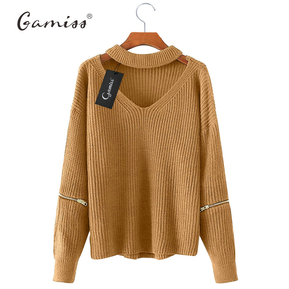 Gamiss Winter Spring Women Sweaters Pullovers Casual Loose ...
