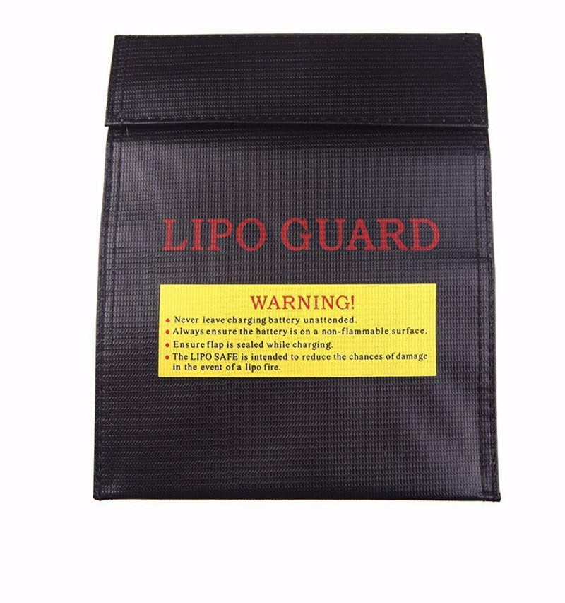 3 High Quality 3PCSLOT RC LiPo Battery Safety Bag Safe Guard Charge Sack Explosion-proof 18x23  23x30 cm Black Red Silver