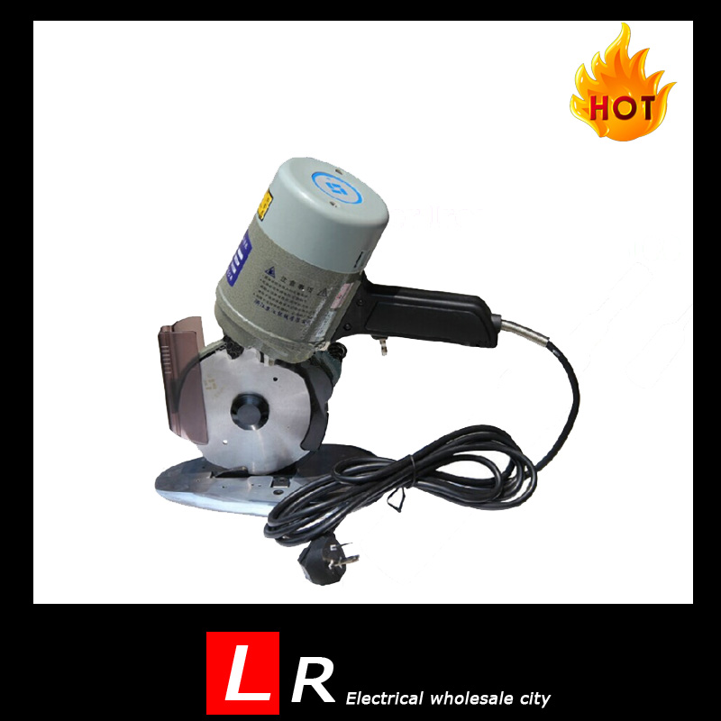 1pc High Quality 350W Electric Rope Cutter 220V Round Cutting Machine with 125mm Blade as Fabric Scissors YJ-125 p80 panasonic super high cost complete air cutter torches torch head body straigh machine arc starting 12foot
