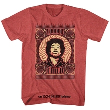 ee6ce725 Funny t shirt men novelty women tshirt Jimi Hendrix Voodoo Child Patterns  Slim Fit T-