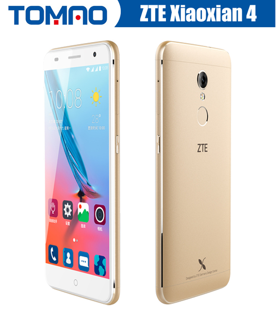 US $106 88 |Original 5 2 ZTE Xiaoxian 4 BV0701 Android MT6753 Octa Core  Dual SIM 4G FDD LTE 2G RAM 16G ROM 13MP Mobile Phone 2 Cameras Wifi-in  Mobile