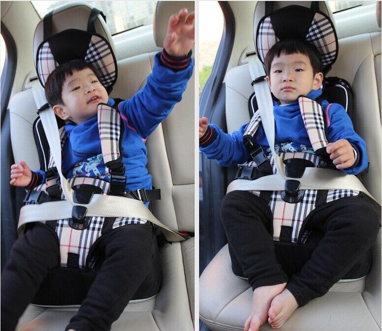 1-12 ans Nouveau siège auto pour enfant 9-30 kg Siège Rehausser Enfants Épaississement Éponge Bébé Enfants voiture enfants ceintures de sécurité sièges de sécurité