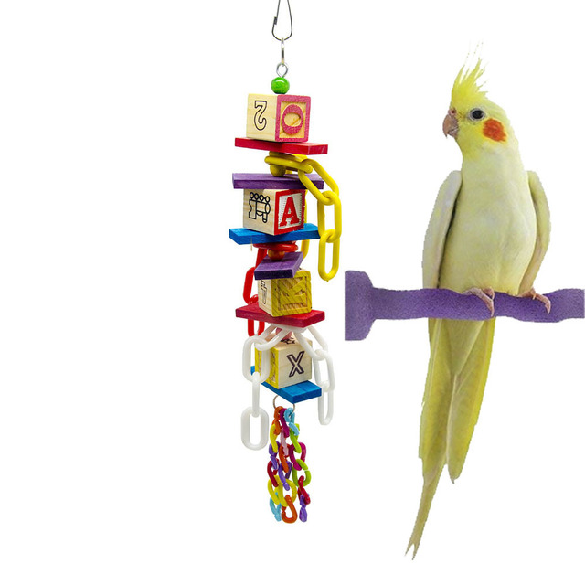 0f6df7a785 US $7.55 |Bird Toy For Parrot Accessories Conure Stand Budgie Parakeet  Supplies Cage Decoration vogel speelgoed papegaai jouets oiseaux-in Bird  Toys ...