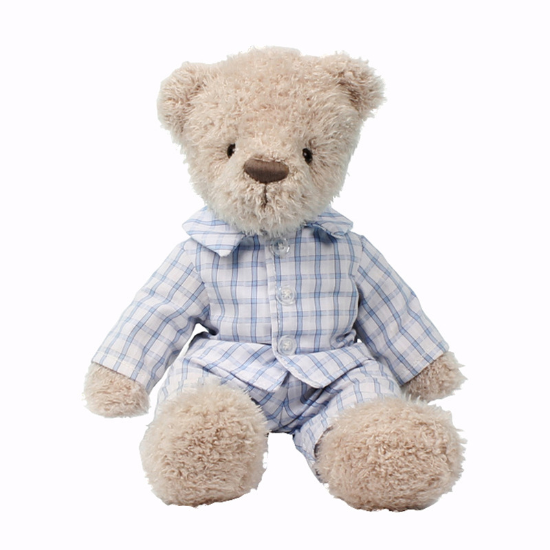 21cm Lovely Bear Stuffed Animals Plush Toys Dressing T-shirt Bears Doll Kids Toys Girls Baby Gifts21cm Lovely Bear Stuffed Animals Plush Toys Dressing T-shirt Bears Doll Kids Toys Girls Baby Gifts