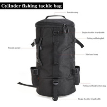 Backpack for Fishing Bag Big Capacity 23L 1000DPolyester For (Reel.Lure.Rod.Line) Handbag and backpack Exchange