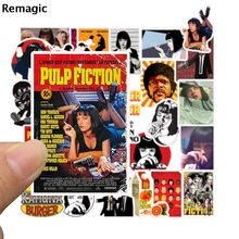 50pcs Pulp Fiction vintage pasters gifts toys cosplay funny decal scrapbooking diy stickers decoration phone laptop waterproof