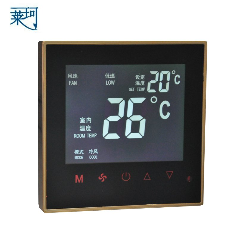 K606 central air-conditioning thermostat fan coil LCD touch screen temperature controller temperature control switch 2pcs toddler baby safety lock kids drawer cupboard fridge cabinet door lock plastic cabinet locks baby security lock