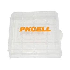 Image 4 - 4PCS AA Rechargeable Battery 1.2V Ni MH 2200mAh Batteries + 4PCS AAA 1000mAh Rechargeable Batteries With 2Pcs Battery Case Boxes