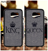 BFF queen king best friends soft TPU edge phone cases for samsung s6 edge plus s7 edge s8 s9 S10 plus lite e note8 note9 case bff heart best friends soft tpu edge cell phone cases for samsung s6 edge plus s7 edge s8 plus s9 s10 plus lite e note 8 9 case