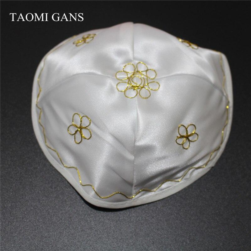 TAOMI GANS Jewish Satin Cap Conservative Judaism Kippot Kippa Kippah 2017 New Hats