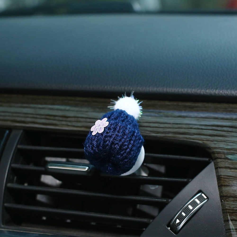 Многоцветная Рождественская шляпа духи клип освежитель воздуха автомобиль орнамент для автомобилей, стильный, Забавный Премиум очиститель воздуха