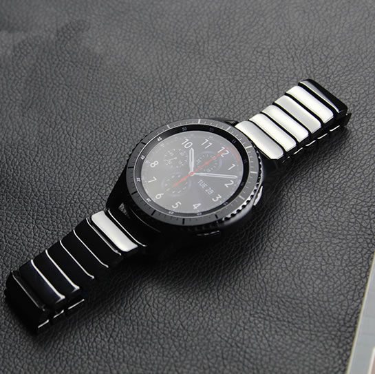 100% Full Ceramic Watch band strap For Samsung Gear S3 Classic Frontier watchbands смарт часы samsung gear s2 black