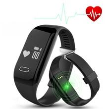 H3 монитор сердечного ритма Смарт браслет здоровья наручные часы вызова сигнализация Вибрационный для Android и IOS Телефон