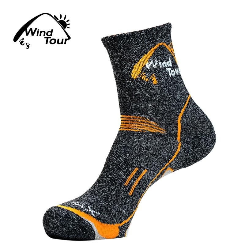 3Pairs 2020 Brand Coolmax Socks Men's Quick Dry Thermal Socks Breathable Antibacterial Thick Warm Socks For Men