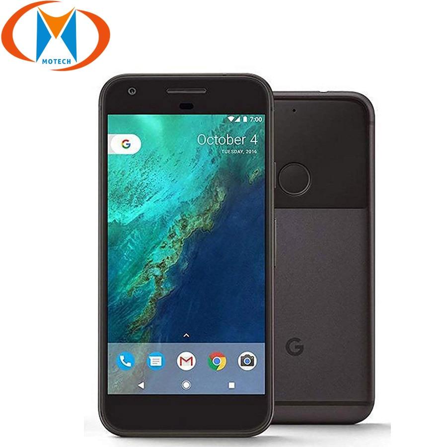 Original US Version Google Pixel XL 4GB RAM 32GB 128GB ROM 4G LTE Mobile Phone 5.5'' Snapdragon Quad Core Fingerprint Smartphone