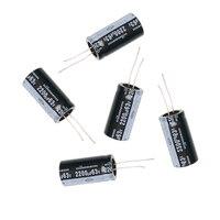 120Pcs New 15 Value 50V 1uF 2200uF Electrolytic Capacitor Assortment Kit Set
