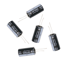 OOTDTY 120 Unids Nuevo 15 valor 50 V 1 uF-2200 uF Condensador Electrolítico Surtido Kit Set