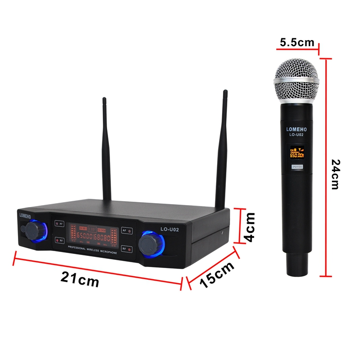 LO-U02  02  Wireless Microphones