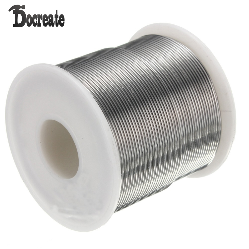цены 1mm 500g Rosin Core Solder 60/40 Tin Lead 2.0% Flux Soldering Welding Iron Wire