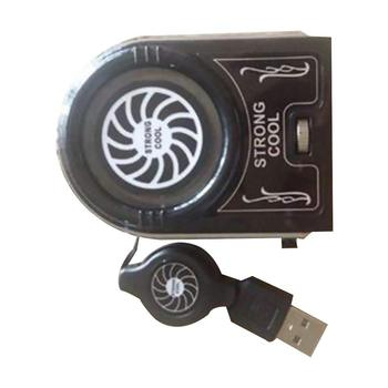 Universal Laptop PC Cooler Exhaust Cooling Fan Fast Action USB Hot Air Extractor Heat Dissipation High Performance