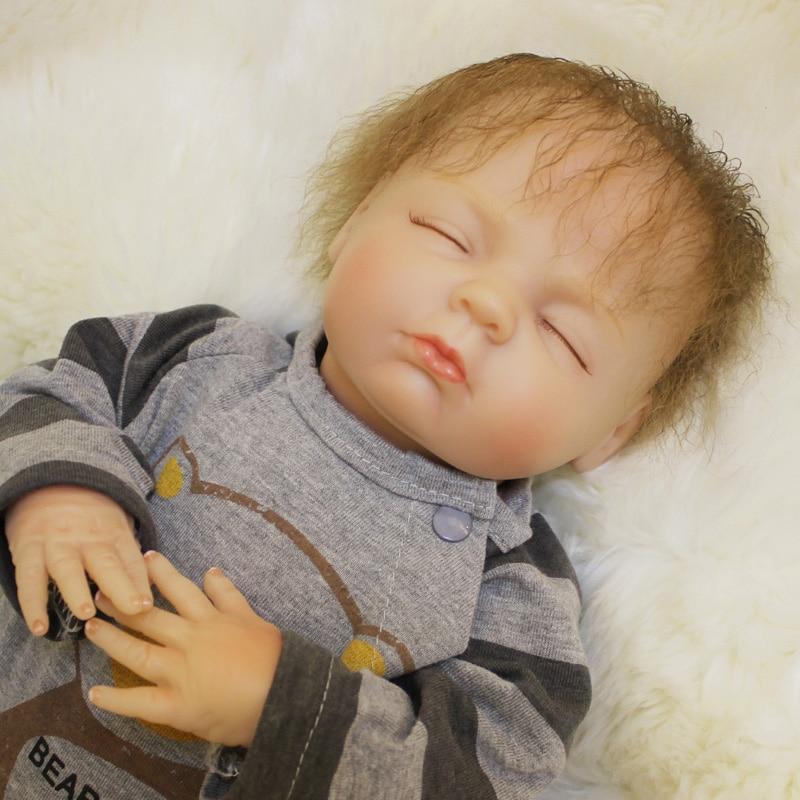 DIY silicone Soft Body reborn baby doll 55cm 22 inch G67