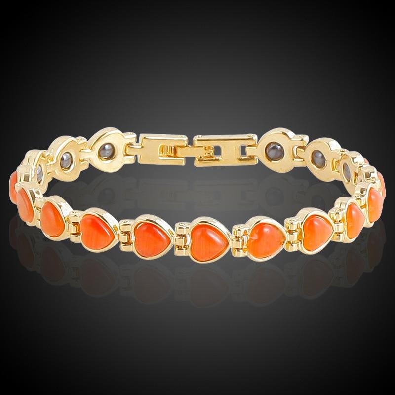 HOMOD Μαγνητική βραχιόλι χάντρες Hematite - Κοσμήματα μόδας - Φωτογραφία 5