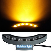 Free Shipping 12W Warm White Cool White Red Yellow Green LED Moon Light Waterproof Outdoor Landscape