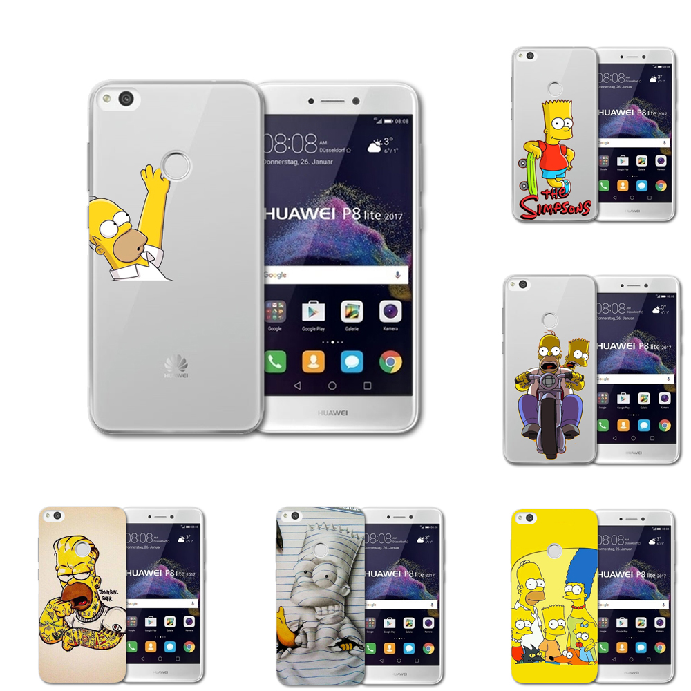 coque simpsons huawei p8 lite 2017