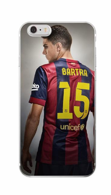Barcelona Club Neymar Da Silva Lionel Messi Number 10 11 Soft Phone Case Coque For  iPhone 4 5 6 7 S SE Plus SE 5C SAMSUNG