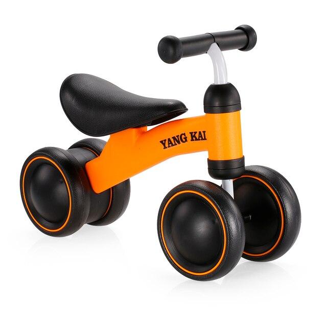 Niños bicicleta de equilibrio de tres ruedas niños Scooter bebé caminador 1-3 años triciclo bicicleta paseo en juguetes regalo para juguetes de bebé de alta calidad