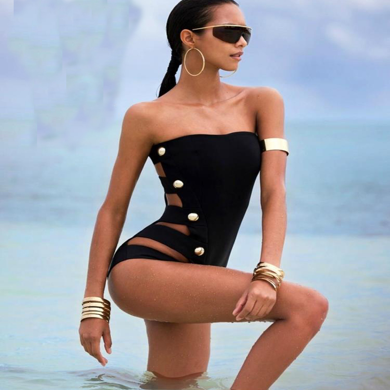 new! summer Swimwear Sexy One Piece Biquinis Swimsuit For Women Beach wear  Bathing Suits