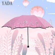 Yada Рододендрон Цветочный зонтик Креативный дизайн Складной