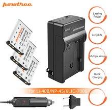 цена на 3X Li-40B LI-42B LI40B LI42B Batteries+Charger USB for Olympus for Nikon Fuji NP-45 NP 45A 45B 45S EN-EL10 ENEL10 L15