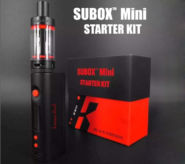 kanger-teck su-box TM Kbox mini Black edition Sealed US stock